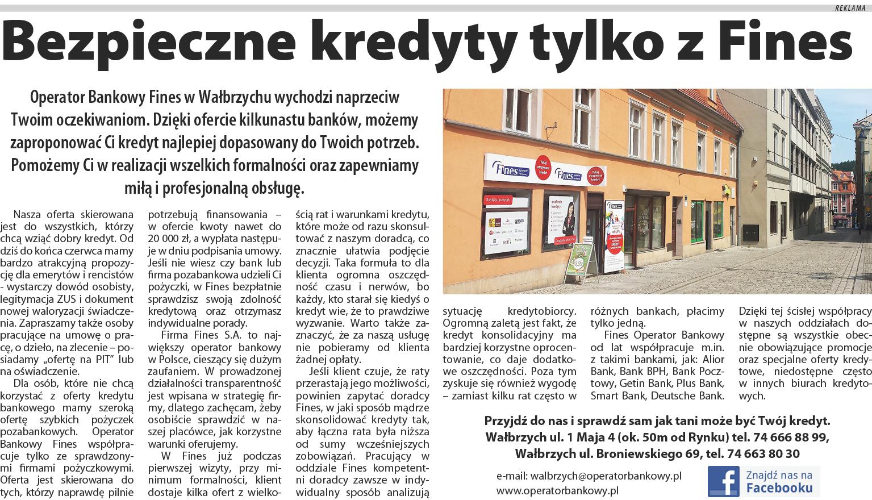 fines Wałbrzych kredyty