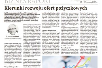 Gazeta Finansowa – Krzysztof Opaliński