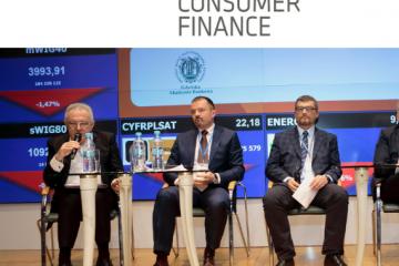 Piotr Przedlacki iKrzysztof Opaliński naKongresie Consumer Finance 2018