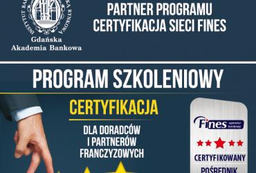 Certyfikacja agentów Fines - zaufany sprawdzony pośrednik finansowy (1)